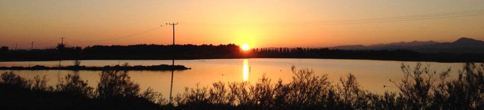 Zypern Urlaub Sonnenuntergang